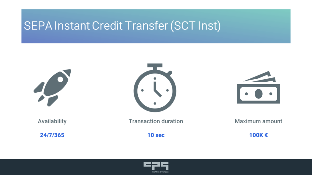 SCT Instant Payment Kerncharakteristiken